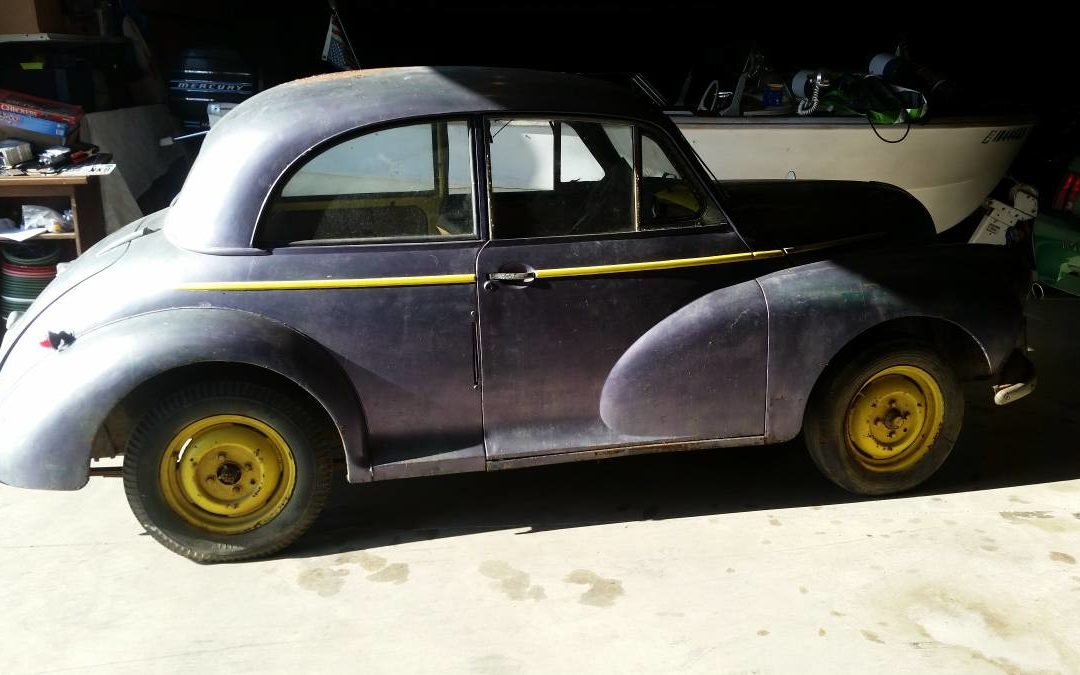 1951 Morris Minor Barn Find