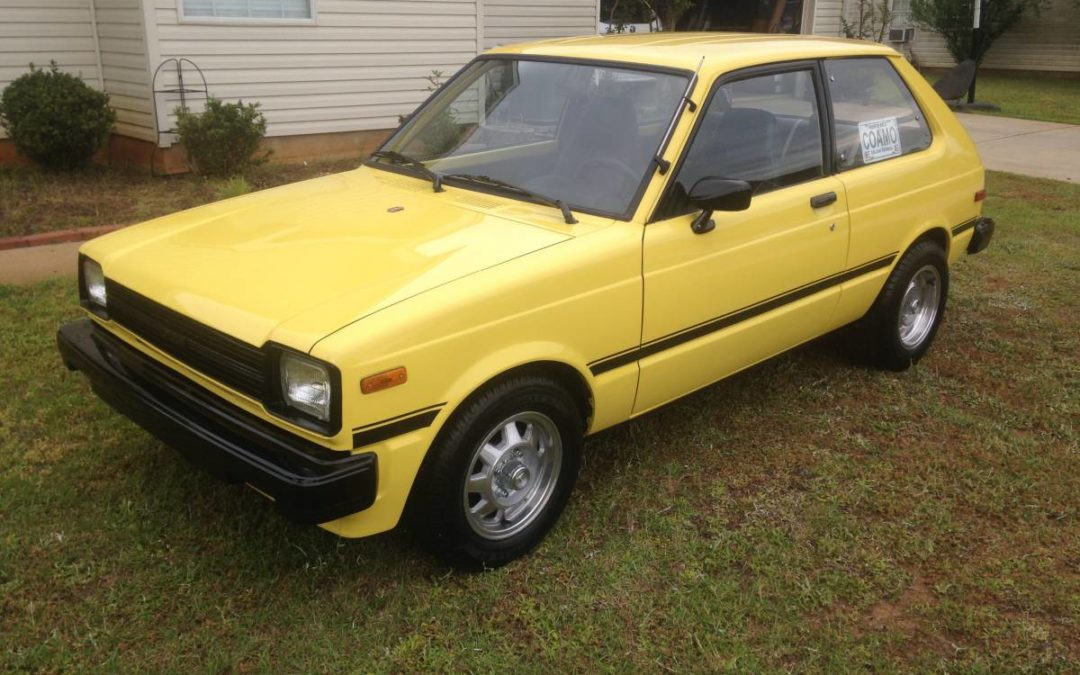 1981 toyota starlet 1 3 original w 71k miles deadclutch. Black Bedroom Furniture Sets. Home Design Ideas
