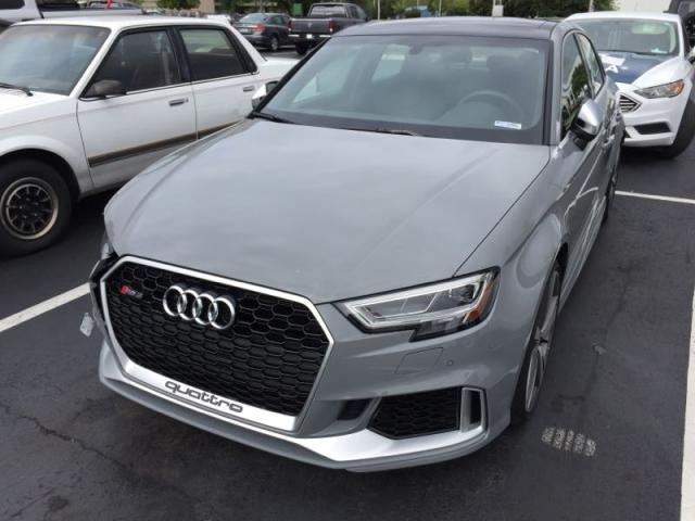 2018 Audi RS3 Side Impact Salvage w/ 4100 Miles