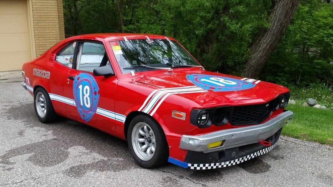 1973 Mazda RX3 SCCA ITA Build Track Car