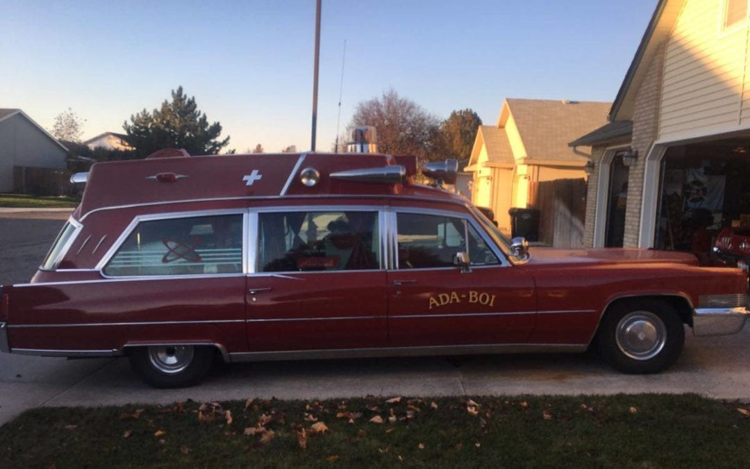 1970 Cadillac DeVille 500ci Ambulance Fully Equipped