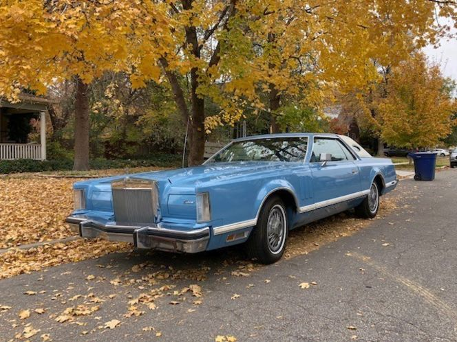 1978 Lincoln Mark V Coupe w/ Fresh Paint