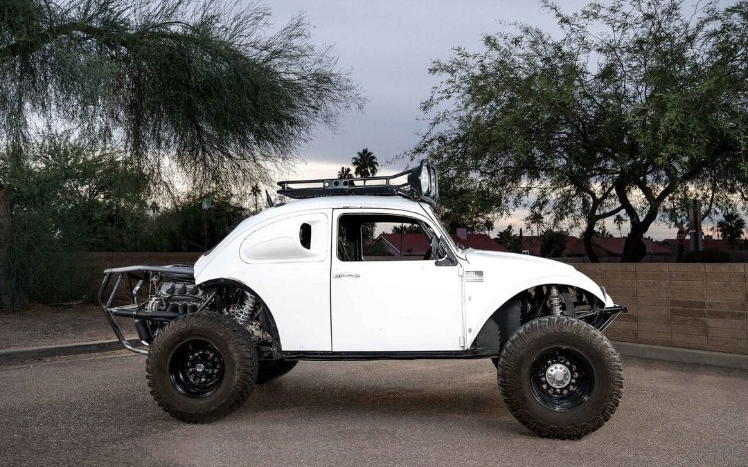 1967 VW Baja Bug Long Travel Fully Caged w/ Honda V6 J35A4