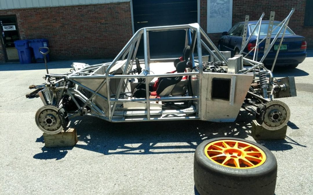 2017 Built(?) Audi Quattro Based Tube Chassis Mid Engine Track Car