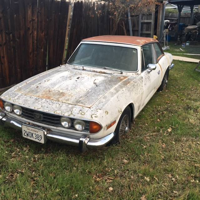 1976 Triumph Stag V8 Project