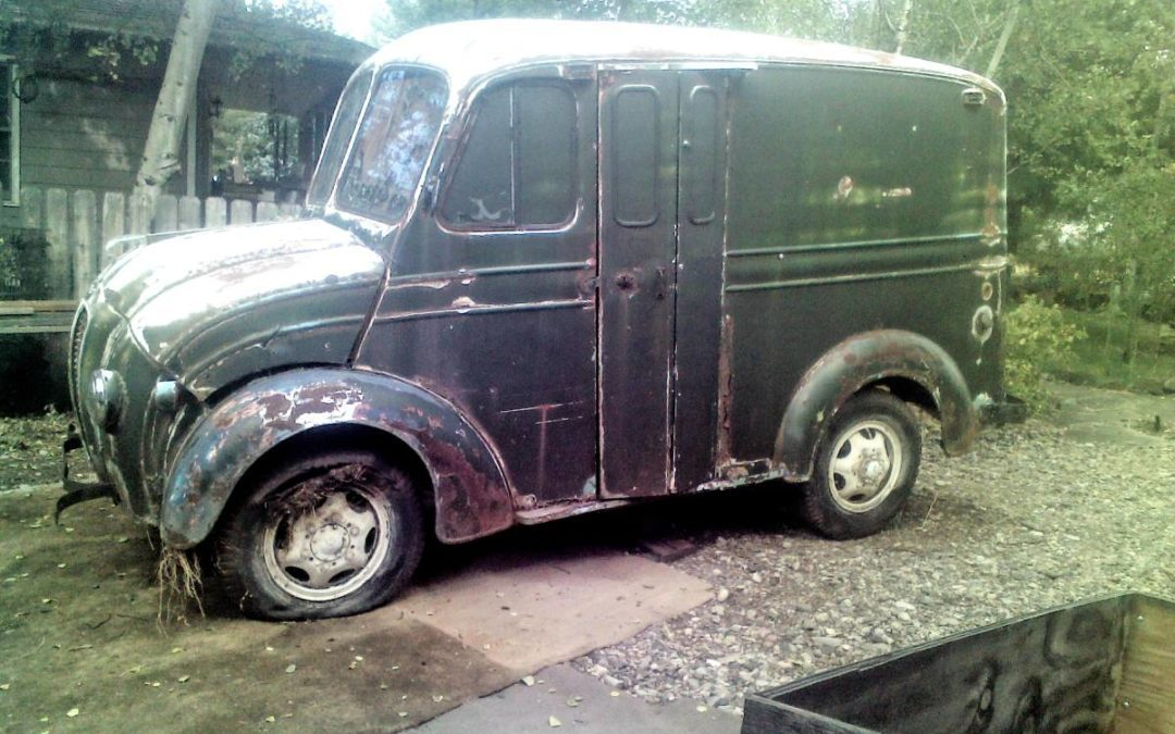 1950 Divco Milk Truck Project