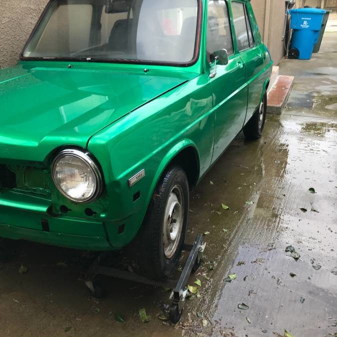 1970 Simca 1204 Sedan French Import Project