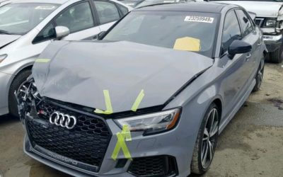 2018 Audi RS3 Front / Rear Collision Salvage – Runs & Drives