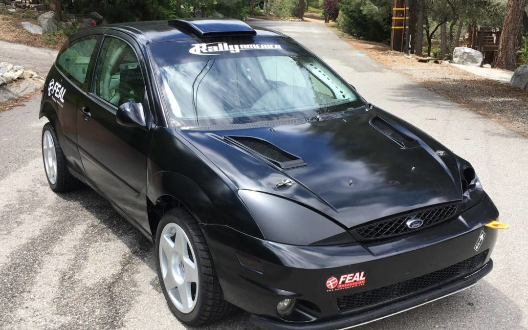 2002 Ford Focus SVT Rally Car – Spec Focus Rally Built