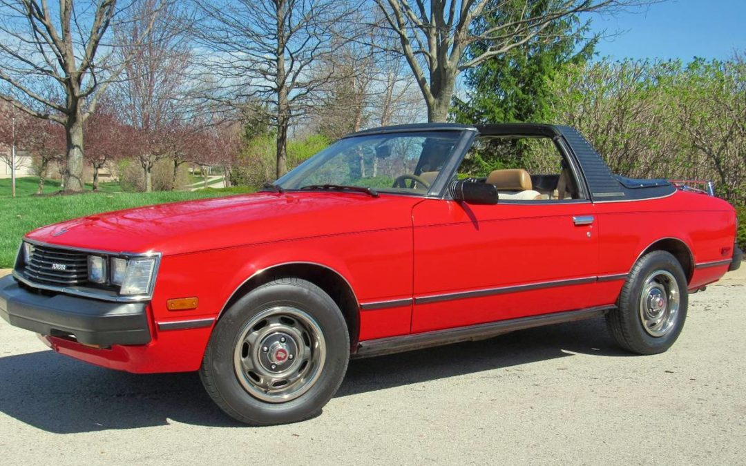 1980 Toyota Celica GT Sunchaser Convertible 5 Speed w/ 89k Miles