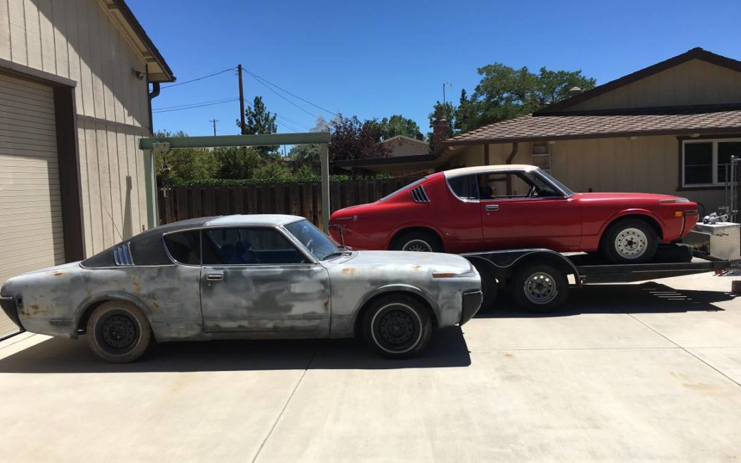 1971 Toyota Crown Kujira Hardtop Pair Of Projects