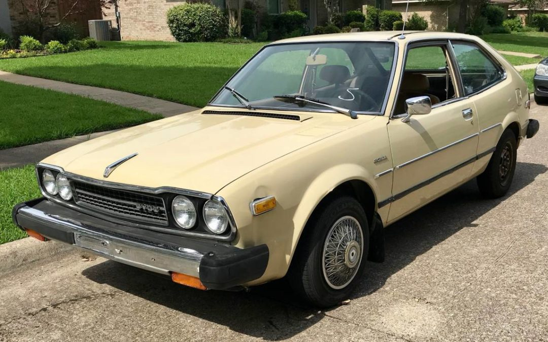1979 Honda Accord Hatchback Coupe All Original Low Miles