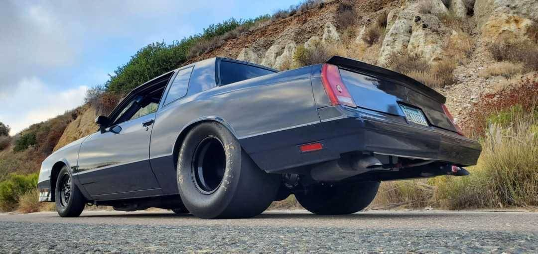 1981 Chevrolet Monte Carlo Built Pro Street Big Block