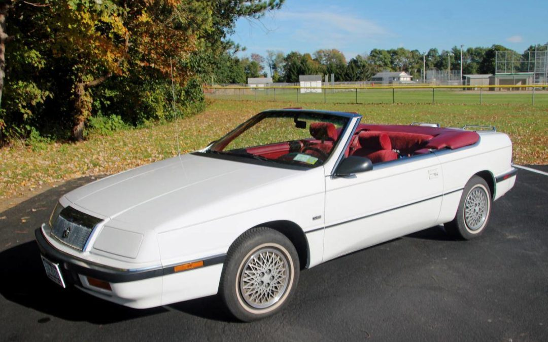 1992 Chrysler LeBaron Convertible V6 All Original w/ 84k Miles