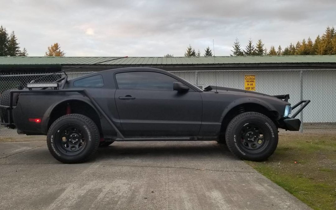 2009 Ford Mustang Off Road Full Custom
