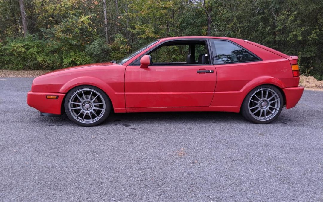 1990 Volkswagen Corrado w/ 1.8T Big Turbo Conversion Making 311whp