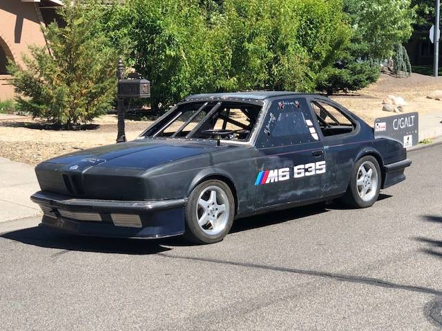 1985 BMW M6 LS1 Converted Bonneville Salt Flat Race Build