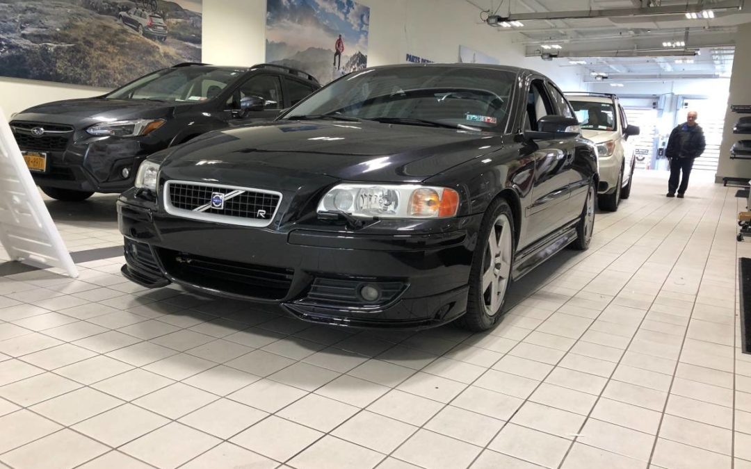 2007 Volvo S60R 6 Speed Manual