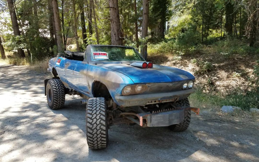 1966 Chevrolet Corvair Body On 84 Blazer 4×4 Chassis