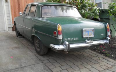 1970 Rover 3500S P6B V8 Project